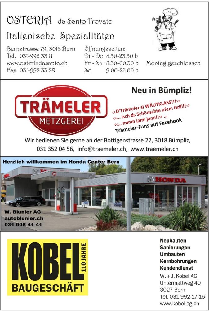 TV BÜMPLIZ  Sponsoren